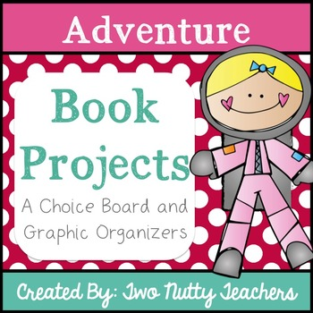 Book Project: Adventure Genre Choice Board
