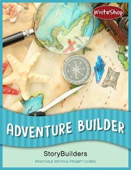 Adventure Builder StoryBuilders   Printable Writing Prompt Cards