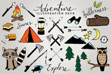 Adventure & Camping Clipart