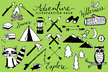 Adventure Camping Clipart