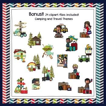 Adventure Camping/Travel Classroom Decor Bundle