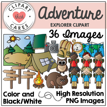 Adventure Clipart by Clipart That Cares