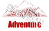 Adventure Genre Sign