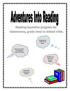 Adventure Into Reading - Reading Incentive Program