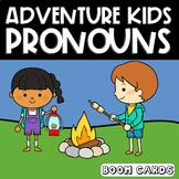 Adventure Kids Pronouns Boom Cards | Language