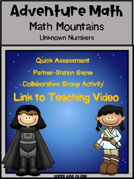 Adventure Math: Math Mountains Unknown Numbers