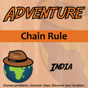 Adventure Math Worksheet -- Chain Rule -- India