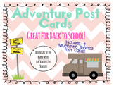 Adventure Post Cards
