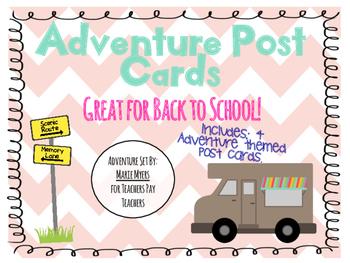Adventure Post Cards