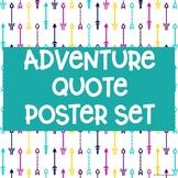 Adventure Quote Poster Set