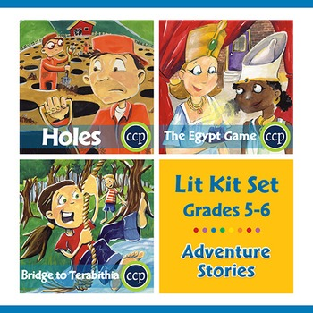 Adventure Stories Lit Kit Set - Gr. 5-6
