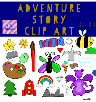 Adventure Story Clip Art