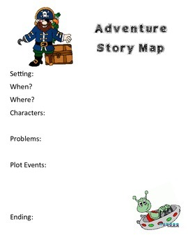 Adventure Story Map