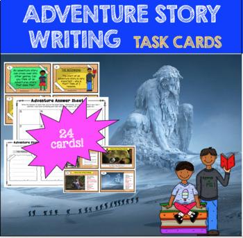 Adventure Story Task Cards