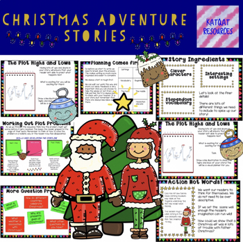 how to write a christmas story in 5 grade