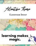 Adventure Theme Classroom Decor