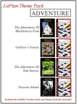Adventure Theme Pack Novel Unit Bundle