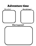 Adventure Time Graphic Organizer