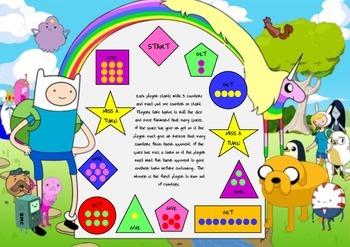 Adventure Time Maths Game