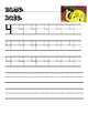 Adventure Time Writing Number practice