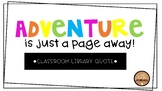 Adventure is just a page away!