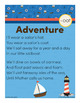 Adventure - oat Word Family Poem of the Week