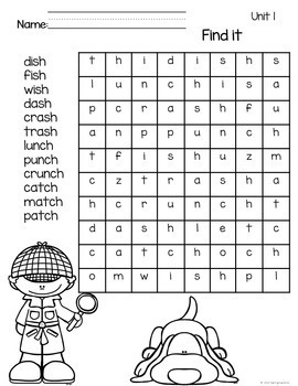 Adventures of the Superkids Spelling Pattern Word Work