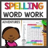Spelling Pattern Word Work activities