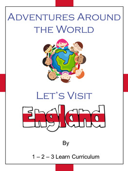 Adventures Around The World England By 123 Learn Curriculum Tpt
