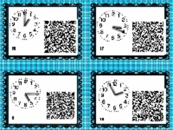 Adventures At Six Flags A Time Scavenger Hunt- QR codes