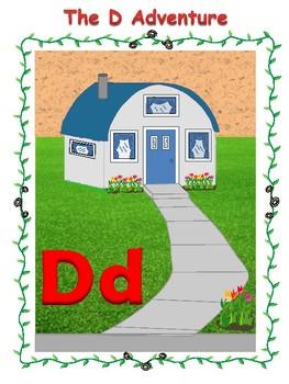 Adventures In Alphabet Village The D Adventure