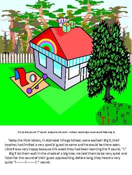 Adventures In Alphabet Village The T Adventure