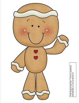 Adventures In Reading With The Gingerbread Man-Aligned to the Common Core