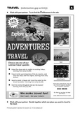 Adventures Travel! (Information - Gap Activity)