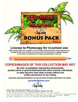 Adventures in Drawing Bonus Pack