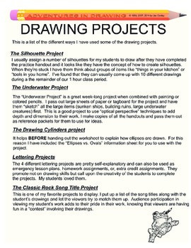 Adventures in Drawing - Drawing Projects