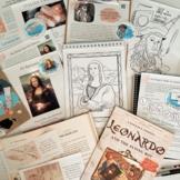 Adventures in Florence - 3 Week Unit Study - Leonardo da V