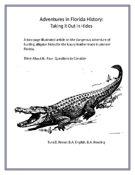 Adventures in Florida History: Taking It Out In Hides