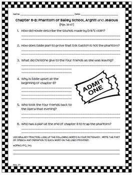 Adventures of Bailey School Kids: Phantoms Don't Drive Sports Cars Novel Unit