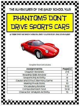 Adventures of Bailey School Kids: Phantoms Don't Drive Spo