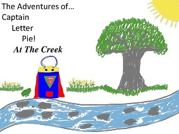 Adventures of Captain Letter Pie - At the Creek