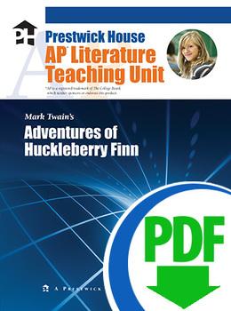 Adventures of Huckleberry Finn AP Teaching Unit