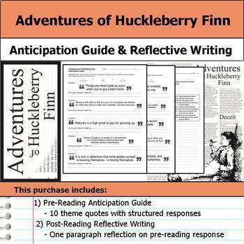 Adventures of Huckleberry Finn Unit