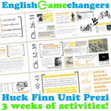 Adventures of Huckleberry Finn Complete Unit Prezi