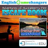 Adventures of Huckleberry Finn: Huck Finn Escape Room (Breakout EDU)