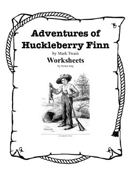 An analysis of contrasting places in adventures of huckleberry finn