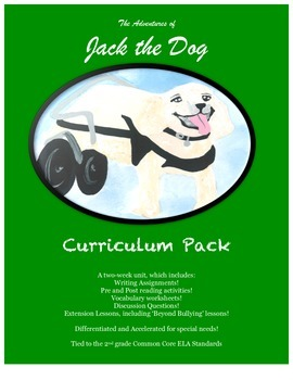 Adventures of Jack the Dog Curriculum Pack