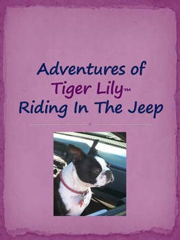 Adventures of Tiger Lily Riding in the Jeep