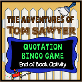 Adventures of Tom Sawyer Bingo Game