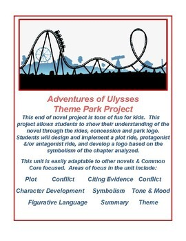 Adventures of Ulysses Theme Park Project